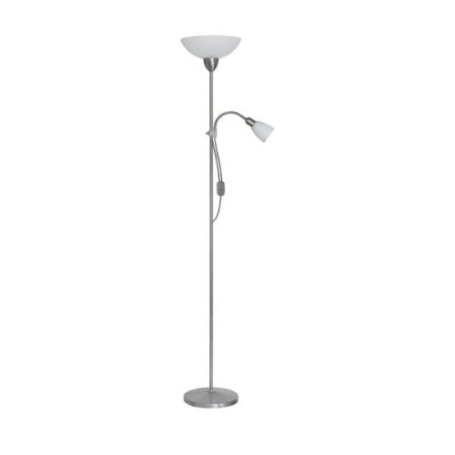 Lampa Podłogowa Stojąca Kevin Szklane Klosze